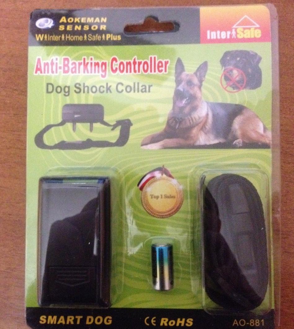 Эффективный ошейник для контроля лая собаки, Антилай, Dog Shock Collar