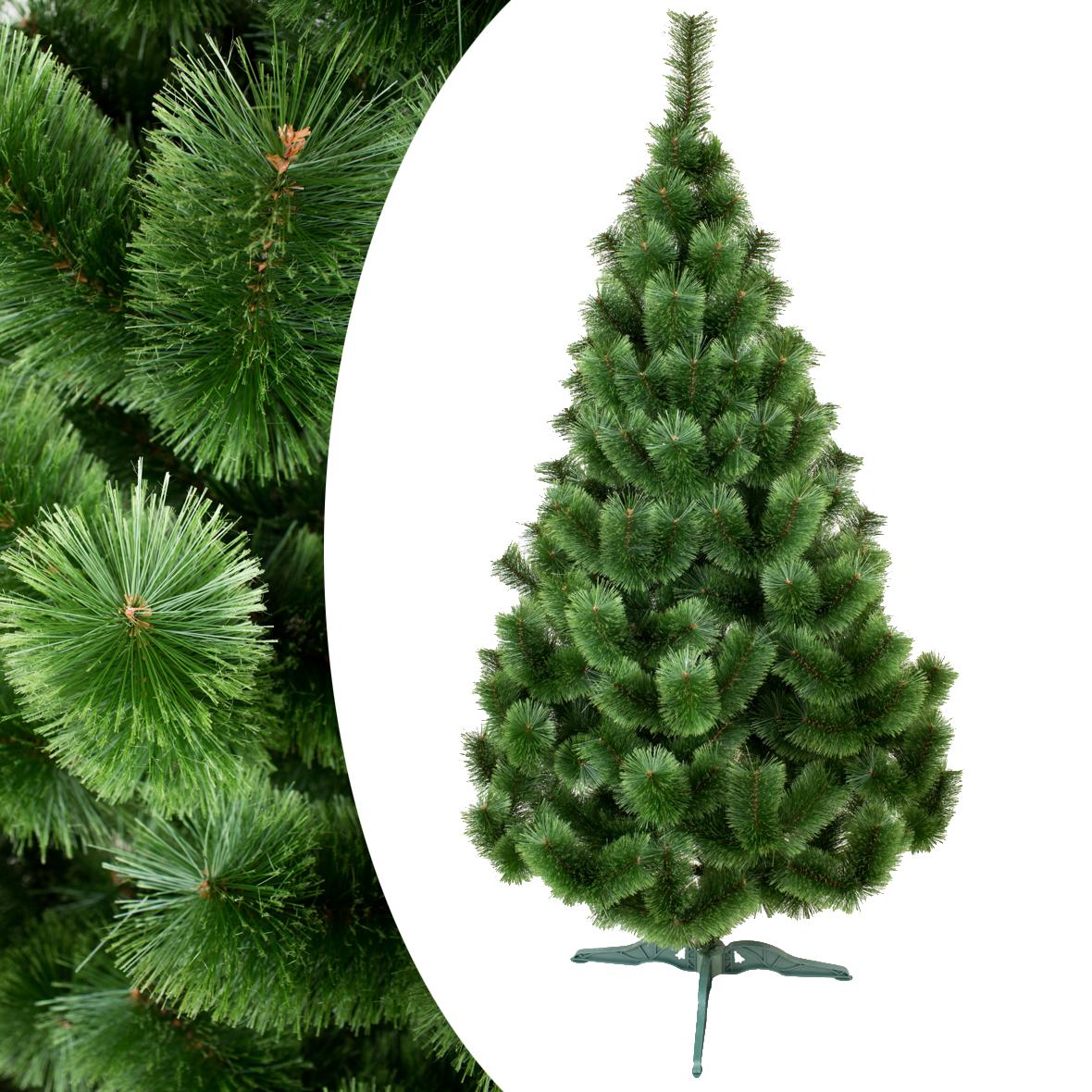 Искусственная распушенная сосна 75 см зеленая. Новогодняя ПВХ сосна 0,75 метра