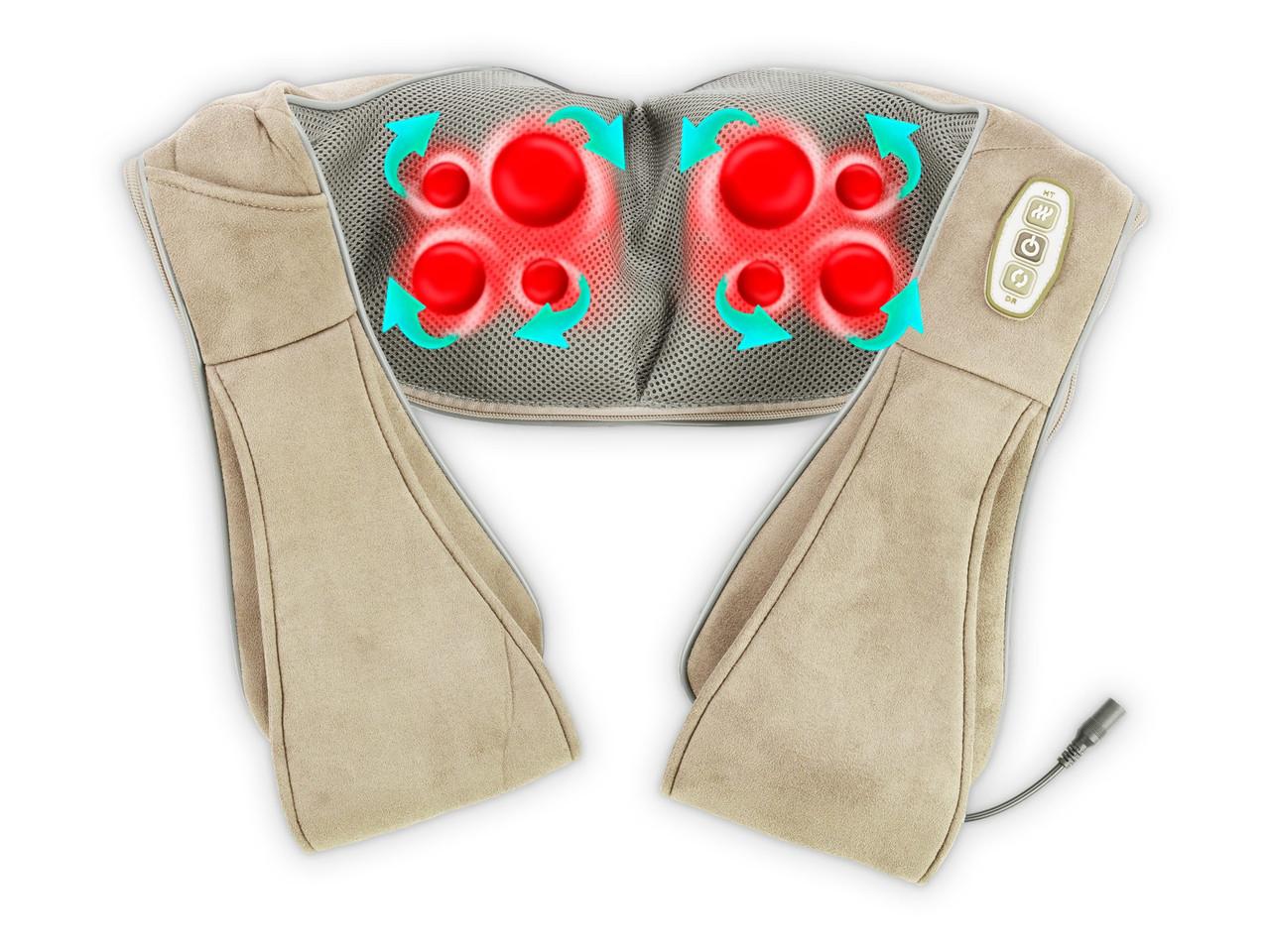 Массажер для всего тела 3D Shiatsu Wellneo Neck Kneading, 9 режимов