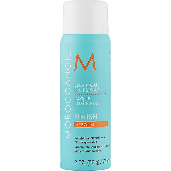 Moroccanoil Luminous Finish Strong Hairspray. Лак для сияния волос сильной фиксации 75 мл.