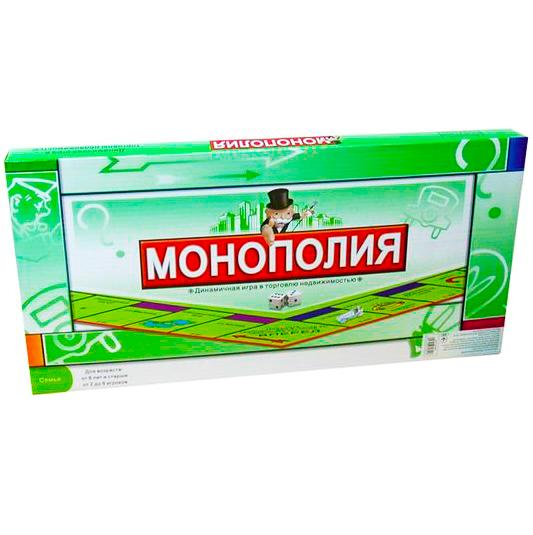 Настольная игра Монополия Monopoly динамическая игра в торговлю недвижимостью