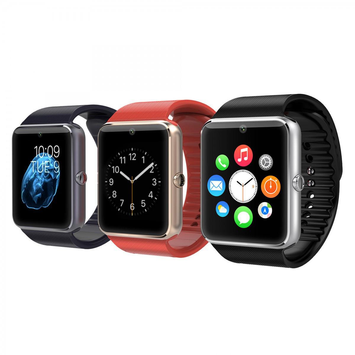 Умные часы GT08 smart watch, SIM, Разные цвета