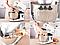 Кухонный комбайн с чашей 5 л DSP PRO KM-3007, 1200 Вт, белый, фото 6