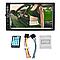 Универсальная автомагнитола 2 Din сенсорная, Bluetooth AMP 7018B, пульт в комплекте, фото 4