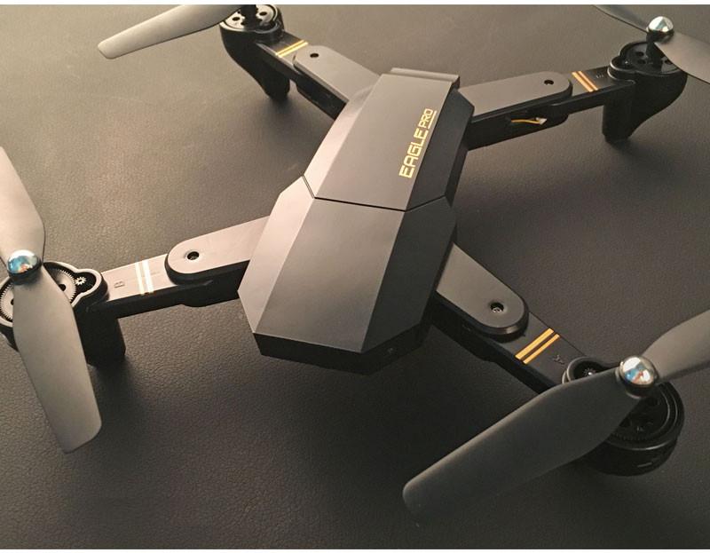 Складной квадрокоптер Drone s9 PHANTOM Pro , Wifi, камера, Черный