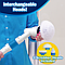Электрическая щетка для влажной уборки SPIN SCRUBBER, телескопическая ручка, белая, фото 4