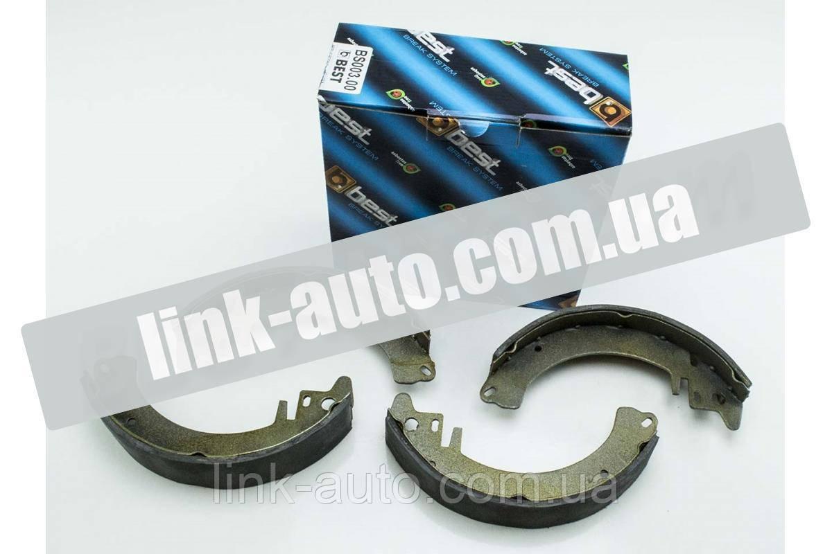 Колодки гальмівний.задні М-2141 (Best Composite) BC 003.00