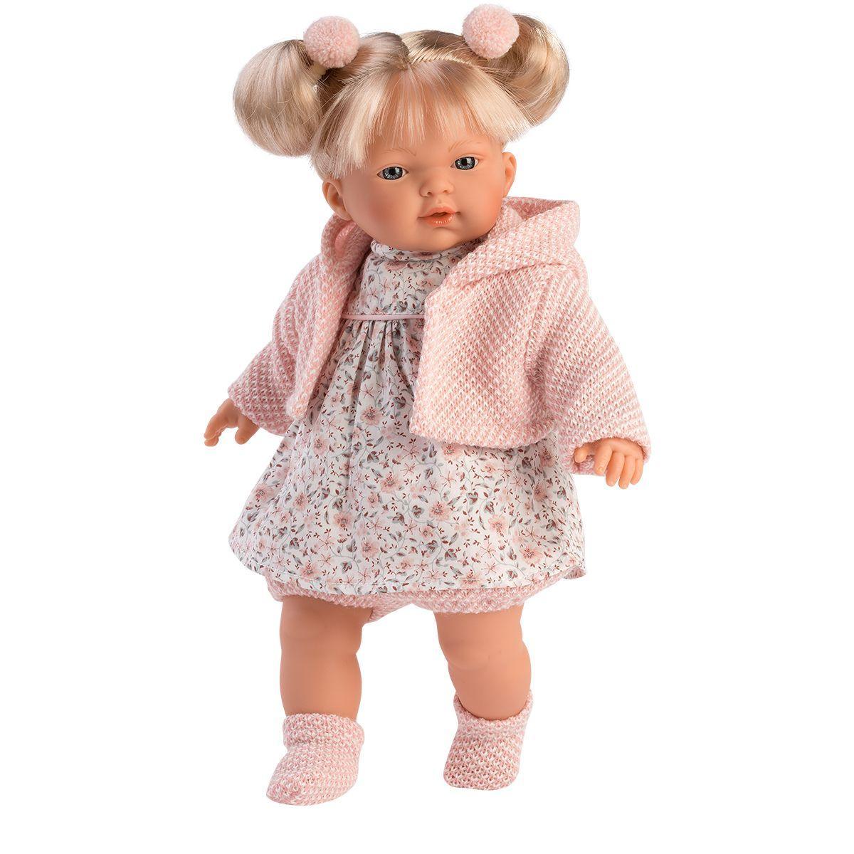 Интерактивная плачущая кукла,33 см, Роберта, Llorens 33118