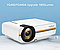 Портативный проектор FHD YG-400 LED PRO, с функцией Air display, 1800 Лм, фото 2