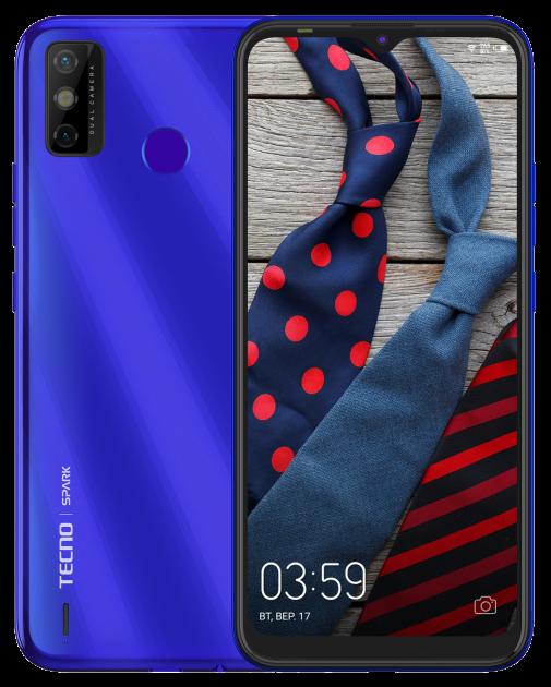 Tecno Spark 6 Go 3/64GB Aqua Blue