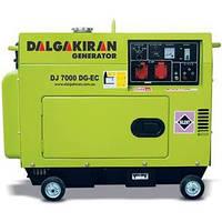 Однофазный дизельный генератор DALGAKIRAN DJ 7000 DG-ECS (7 кВт)