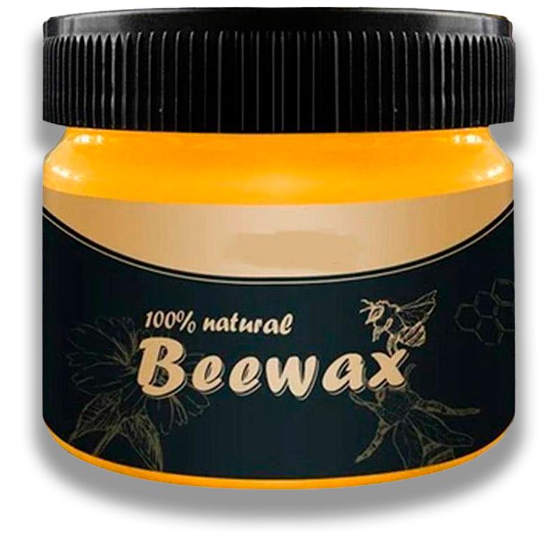Воск для защиты и полировки мебели Beewax в банке 80 г