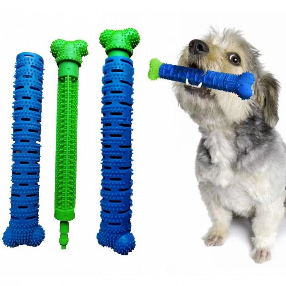 Зубная щетка для собак с секретом CHEWBRUSH, длина 24 см, с массажем десен