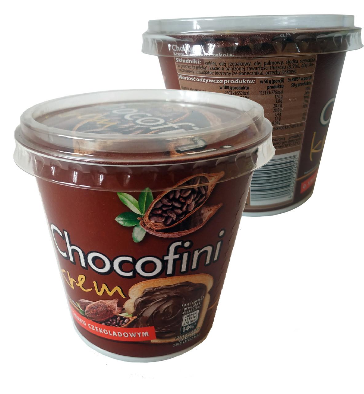 Паста Chocofini Krem kakao с особенно шоколадным вкусом 400 г