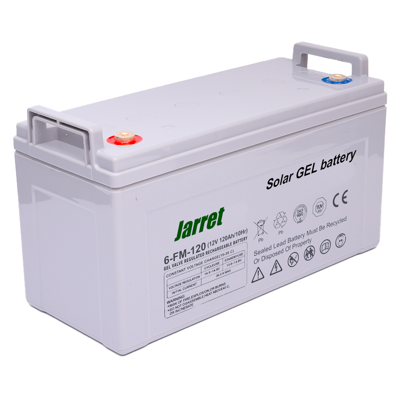 Аккумулятор гелевый Jarrett GEL Battery 120 Ah 12V, официальный, для solar панелей и резервного питания