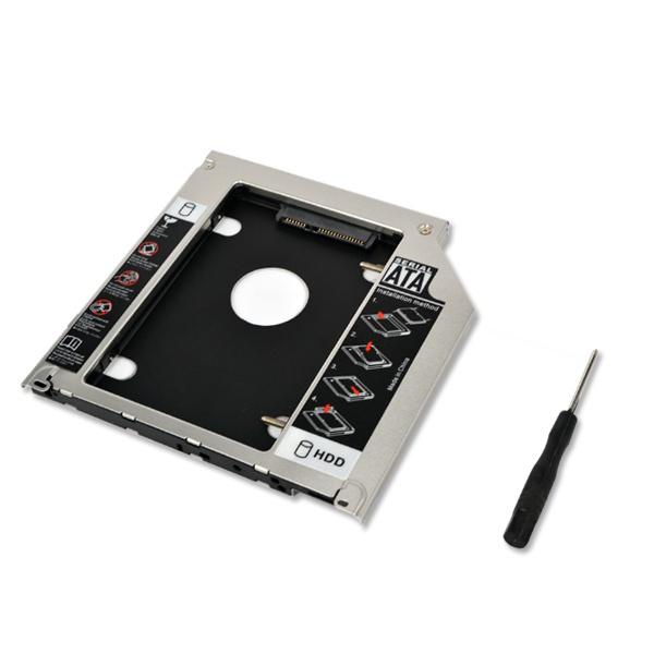 Карман для SSD-HDD диска (вместо CD-DVD)