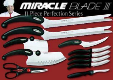 Кухонные ножи Miracle Blade набор