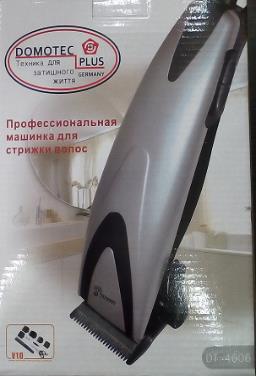 Машинка для стрижки DOMOTEC PLUS DT 4606