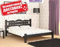 Кровать двуспальная из дерева Инга