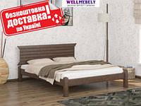 Кровать из дерева Стелла двуспальная