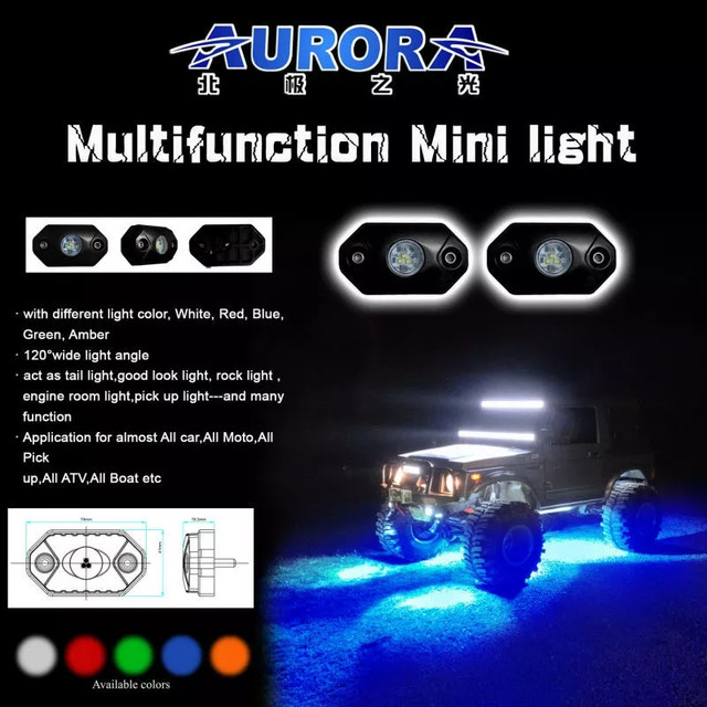 LED подсветка AURORA Rock Light