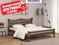Кровать двуспальная Даллас деревянная