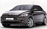 Авточохли на Пежо 301 від 2012 року седан цілісна Peugeot 301,2012 - Nika, фото 5