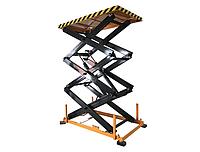 Стол грузоподъемный SJGO, г/п 800 кг, высота подъема 4300 мм, платформа 1900х1200 мм
