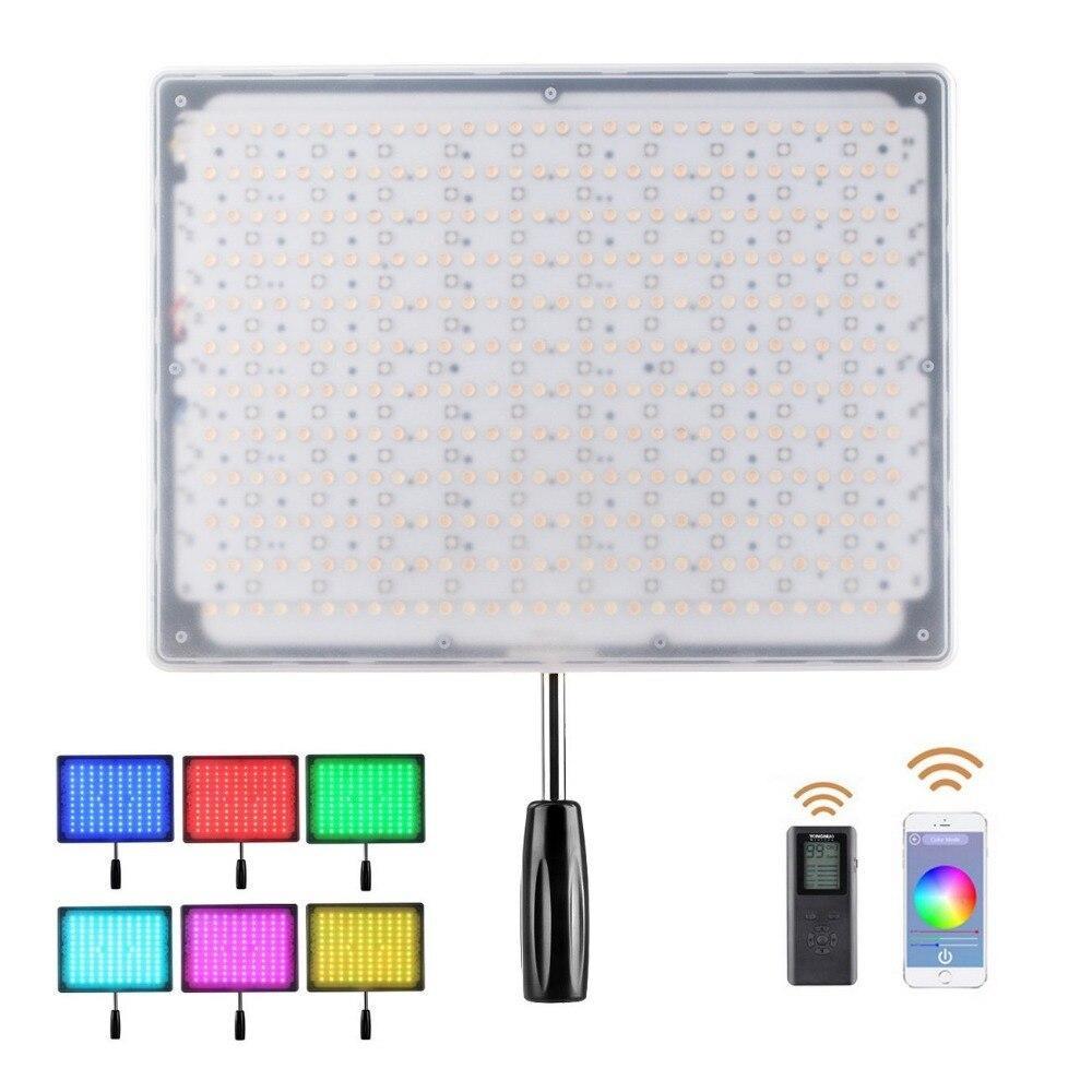LED - освітлювач, видеосвет Yongnuo YN-600RGB (YN600RGB) (3200 – 5500K) з RGB