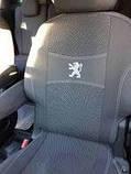 Авточехлы Peugeot Partner I 1+1 2002-2008 Nika Пежо Партнёр, фото 2