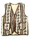 Безрукавка шерстяная на меху с опушкой S (44), фото 3