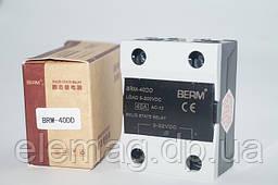 SSR-40DD Реле твердотільне однофазне 40A Berme постійний струм