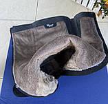 Женские зимние сапоги Respect натуральная замша цигейка 39, фото 7