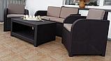Комплект садових меблів Allibert by Keter Modena Lounge Set Brown ( коричневий ), фото 10