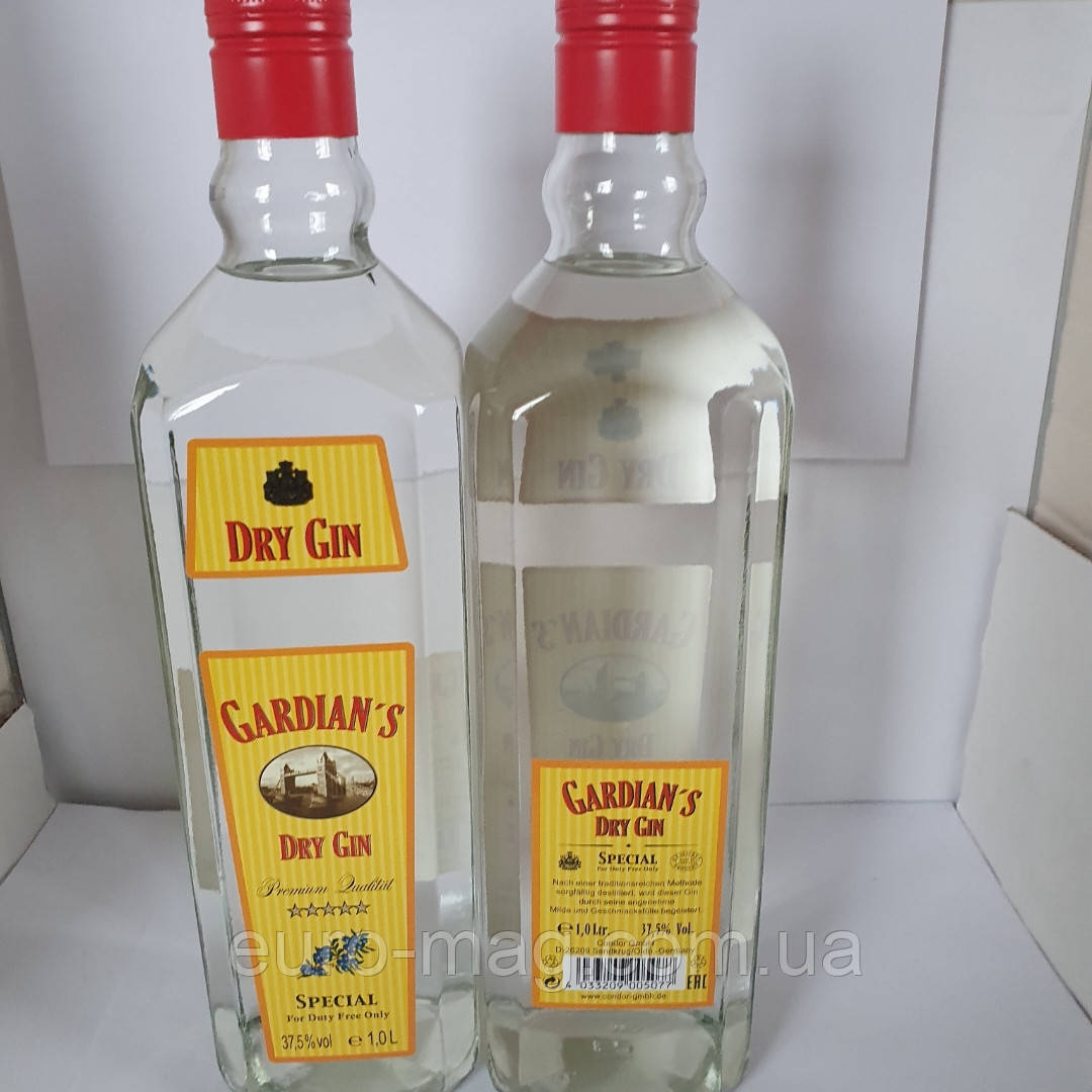 Gardians Drt Gin 1L 37.5%  Джин Гардианс
