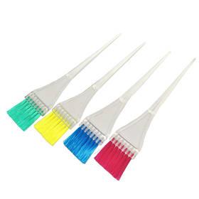 Кисть для окраски волос Eurostil 00101/56/99, узкая, цветная щетина