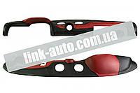 Накладка панели приборов обшитая ВАЗ 2106 красная