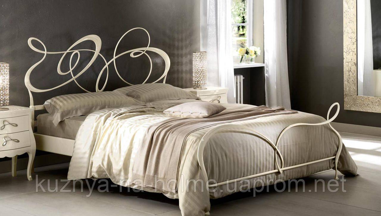 Кованая кровать GHIRIGORI от 160х190 см до 200х200 см. Ручная ковка