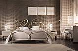 Кованая кровать GHIRIGORI от 160х190 см до 200х200 см. Ручная ковка, фото 8
