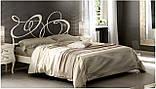 Кованая кровать GHIRIGORI от 160х190 см до 200х200 см. Ручная ковка, фото 7