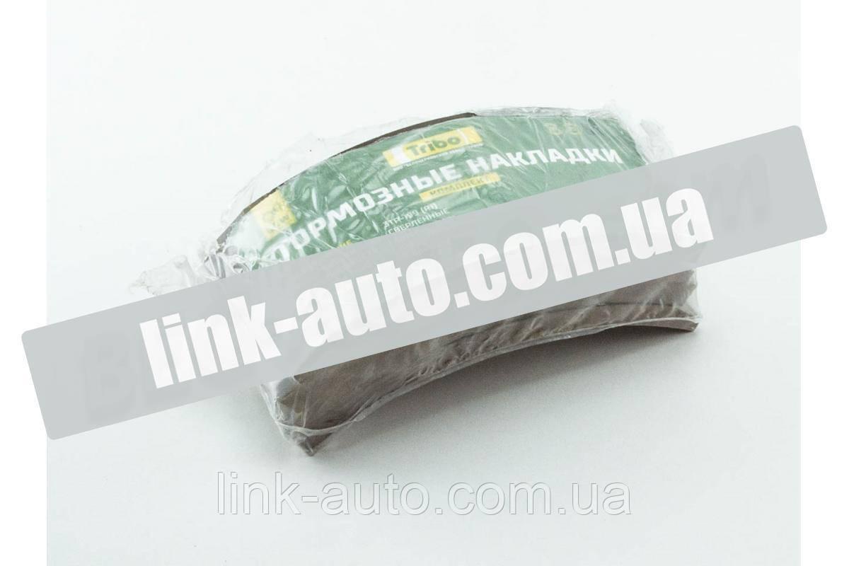 Накладка гальмівний. ПАЗ-3205,ГАЗ-3307 зад. РЕМ.R1 (4шт+закл.) (Трібо)