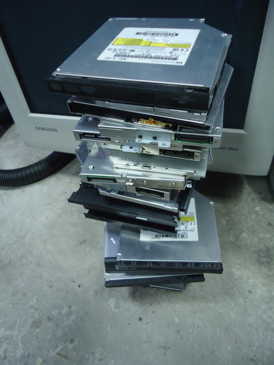 Оптические приводы DVD RW ATAPI IDE для ноутбуков бу