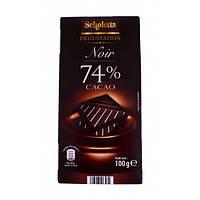 Шоколад Scholetta Noir 74% Какао 100 г