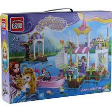 Конструктор Brick 2607 (12шт) Princess 394дет. 6+лет в кор. 41*30*6,5см 7 toys