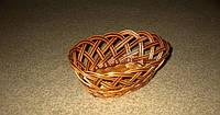 Хлебница-конфетница плетенная из лозы