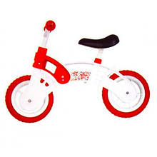 Велобег бело-красный STAR BIKE колеса 10 EVA KW-11-012 БК