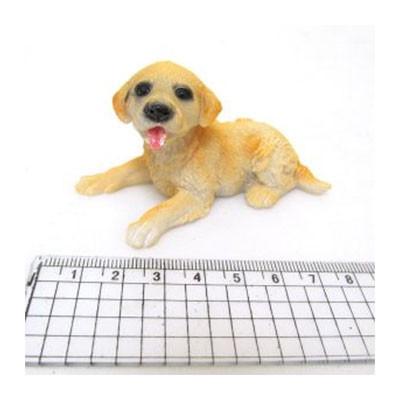 Сувенир керам. Собачка лабрадор щенок 7,3*3,5*4,5 CG2623