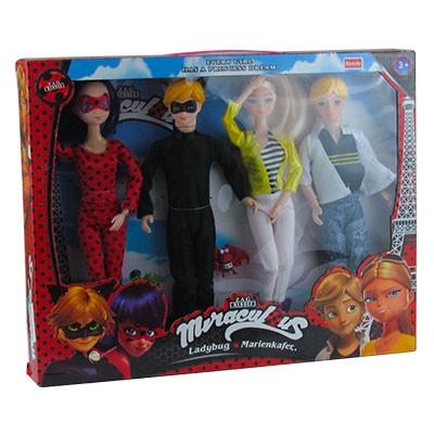 Кукла в наборе из 5шт Леди БагАРТ.10222