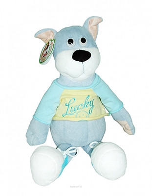 Мягкая игрушка Собачка Щасливчик