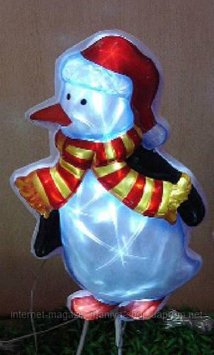 Светящееся панно Пингвин